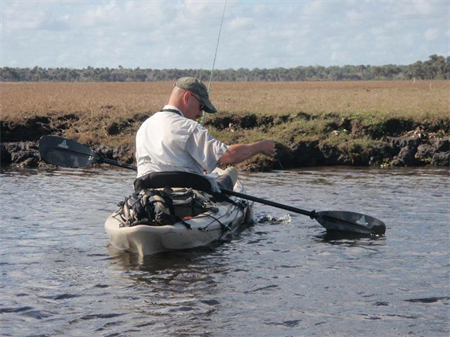 """Kayak Fly Fishing Crystal River"" with Scott Hennet"